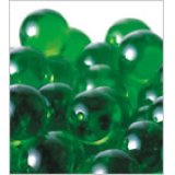 【カートン】ニューカラーマーブル、グリーン 直径15mm 6,000個入