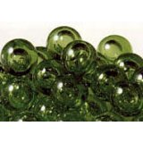 バブルマーブル、グリーン 直径17mm 260個入