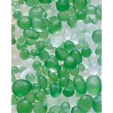 【カートン】フロストグラスボール グリーン/クリアー 1kg×25袋入