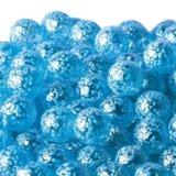【カートン】水玉マーブル、ブルー 直径17mm 4,000個入