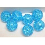 フラッシュマーブル、ブルー 直径15mm 100個入