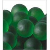 【カートン】フロスト、グリーン 直径25mm 1,250個入