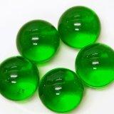 【カートン】カラーマーブル、グリーン 直径25mm 1,250個入