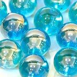 【カートン】オーロラ、ブルー 直径25mm 1,250個入