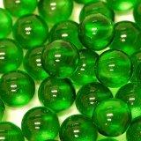 【カートン】カラーマーブル、グリーン 直径17mm 4,000個入