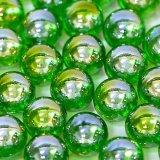 【カートン】オーロラ、グリーン 直径17mm 4,000個入