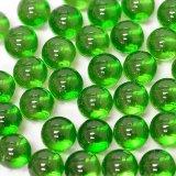 【カートン】カラーマーブル、グリーン 直径12.5mm 10,000個入