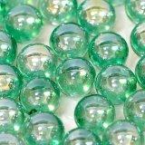 【カートン】オーロラ、エメラルドグリーン 直径17mm 4,000個入