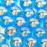 【カートン】オーロラ、ブルー 直径17mm 4,000個入