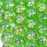 【カートン】オーロラ、ライトグリーン 直径17mm 4,000個入